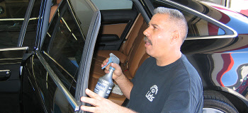 Vehicle Window Tinting Service