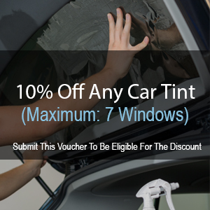 10% Off - Any Car Tint (Maximum: 7 Windows)